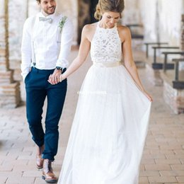Vintage rustic wedding dress suppliers best vintage rustic 2017 new white jewel neck lace wedding dresses backless tulle a line bridal gown bohemian for garden rustic style wedding custom made cheap vintage rustic junglespirit Gallery