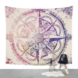 wall curtains UK - Constellation Tapestry Gobelin Hanging Wall Hippie Tapestry Printed Bohemian 148x200cm Boho Wall Carpet Simple Curtain Cloth