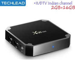 China X96mini Smart TV Box Android 7.1 1GB 8GB With Sweden IPTV Channels Spain Portugal Dutch Greek Poland Europe Live TV Subscription IUDTV M3U suppliers