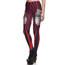 e62f749da766fa 2017 NEW 3784 Merry Christmas Santa Claus Stripes Prints Sexy Girl Pencil Yoga  Pants GYM Fitness Workout Polyester Women Leggings Plus Size