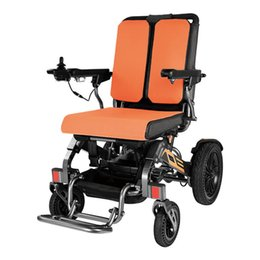 (Health Gadgets) YE-100 foldable electric wheelchair, all terrain mobility solution with aluminum frame, brushless motor and 150kg weight capacity