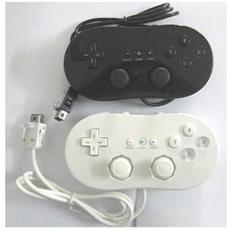 Game Controller Wired Classic Gamepad For NES Wii vibration handle player joystick on Sale
