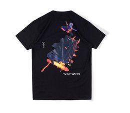 Wholesale astro shirt for sale - Group buy Travis Scott cactus Jack Astro cyclone tee fortress night short sleeve T shirt