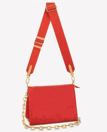 Coussin PM Bag Star of 2021 Spring Summer Show Pillow Like Shape Puffy Lambskin Strap Carry as Crossbody and Chain Baguette