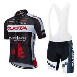 Kuota Cycling Kit clothing short sleeve jersey top and bibshorts padded bibs SET