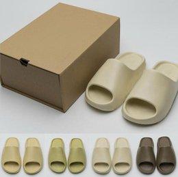 Graffiti Bone Resin Desert Sand Rubber Slippers Summer Brown Flat Men Women Beach Shoes size 36-45 on Sale