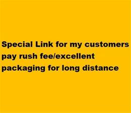 Venta al por mayor de Enlace especial para mis clientes Pay Pay Rush Fee / Excelente embalaje para larga distancia