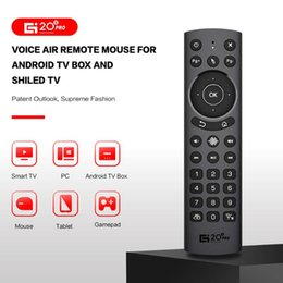smart stb 2021 - 2.4G Wireless Air Mouse 30 Buttons Voice Remote Control For PC Smart TV Box STB Controlers