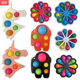 Новая мода декомпрессионная игрушка сенсорное толчок поп пузырь FIDGET SENSOY TOY AUTISM ОСОБЕННОСТИ ОСОБЕННОСТИ Тревога напряжение для детей на Распродаже