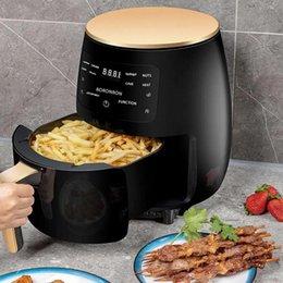 venda por atacado Air Fryers Smart Touch Fryer Grande Capacidade Forno Elétrico Agregado familiar