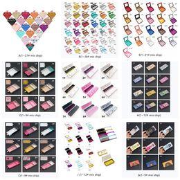 venda por atacado Caixa de cílios magnéticos com bandeja de cílios Eyeliner Pen 3D Mink Eyelashes Caixas Falsas Eyelashes Caixa De Embalagem Caixa De Postura Vazia Ferramentas cosméticas