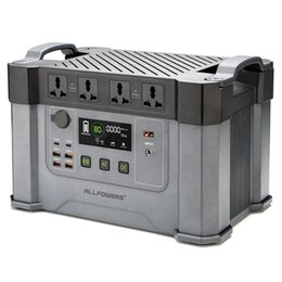 Wholesale 2000W 1700WH Home Portable Solar Inverter Generator Energy Storage Power Station Outdoor Camping Power Generator
