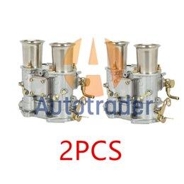 Venta al por mayor de Nuevo (2x) 45 DCOE 152 Twin carburador para Weber Solex DellORTO 45Dcoe Carb 19600.017 4 Cyl 6 Cyl