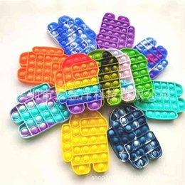 Push Bubble Fidget Toys Simple Dimple Poppers favor pop it Autism Special Needs Stress Decompression Board Finger Toy Cartoon hH481IU5 on Sale