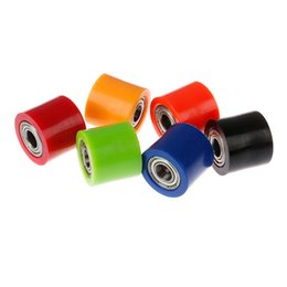 Wholesale 28mm 10mm Wheel Guide For Street Bike Drive Chain Roller Pulley Slider Tensioner Engine Assembly