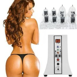 Wholesale Physical Chest & Buttcock Enlarger Body Shaping Vacuum Cupping Therapy, Natural Booty Lift Enlargement Pumps Professional Big Breast Machine With 35 Cups