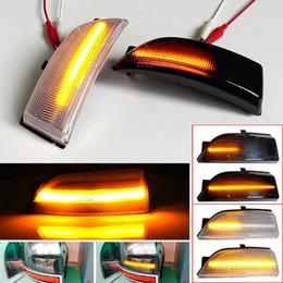 Emergency Lights 2Piece Sequential Flasher Lamp LED Dynamic Turn Signal Light For Everest Ranger T6 Raptor Wildtrak Blinker Indicator on Sale