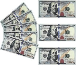 PROP ARGENT 1: 1 Fake Moneys Dollar Bills Papier imprimé Euro Bill Party pour enfants Jouer aux jouets Cadeaux de Noël ou vidéos Film en Solde