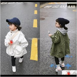 maternity clothes coats Australia - Tench Coats Outwear Baby Clothing Baby Kids Maternity Drop Delivery 2021 Girls Outerwear Tether Windbreaker Allmatch Coat Childrens Spring An