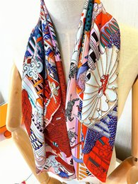 pashmina scarves for women UK - 2021 Fashion Square Scarves For Women Beautiful Brand Designer Scarfs and Shawls Wraps Hijab Headscarf Hair Scarf Headband Satin Neckerchief Kerchief Muffler
