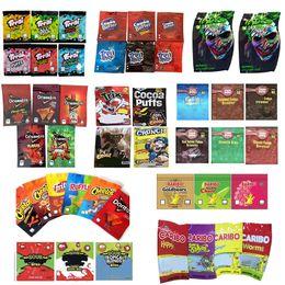 Toptan satış Sıcak Trolli Trrlli Trips Doweedos Maddibuller Cheetos General Ekşi Brownie Bites Joker Caribo Solucanlar Miles BARIBO ÇANTA ÇEKURLU YAPILABİLİR YATAKLAR BOHD MYLAR PAKETLEME