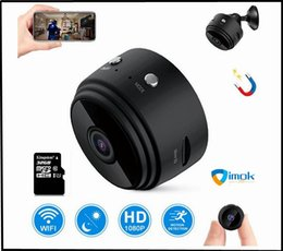 small surveillance cameras NZ - A9 1080P Full HD Mini Spy Video Cam WIFI IP Wireless Security Hidden Cameras Indoor Home surveillance Night Vision Small Camcorder