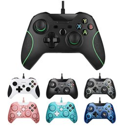 USB Wired Controller for XBox One Joystick Gamepad Game Controller for Nes Xboxone PS3 PC Vibration With Retail Box DHL on Sale