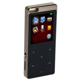 A13 Model 1.8 Inch High-definition MP3 Music Player Large Screen Bluetooth Card Sports Musikspielers mit 800mA Batterie OTG Recorders on Sale