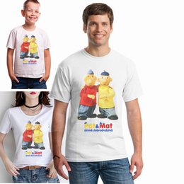 family puppets UK - Pat and Mat Classic Czech Puppet Cartoon t Puzzle Adventure Best Friend Tee Shirt the Whole Family Together Tshirt