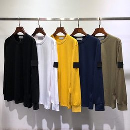 Wholesale men causal shirts for sale - Group buy Men s T Shirts Long Sleeve Cotton High Quality Long Sleeve Sweatshirt Hip Hop Men Streetwear Causal Base Shirt Mens Clothing Tops tee