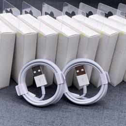 Oryginalny wysokiej jakości Kabel ładujący 1M 2M Kabel USB Przesyłanie danych szybkie ładowanie do kabla iPhone z pudełkiem