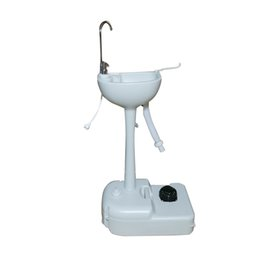 Опт Оборудование для кемпинга на открытом воздухе портативный съемный умывальник с краным краном и садовой фитинги белые кухонные принадлежности