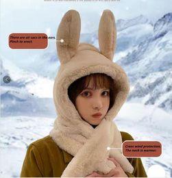 Wholesale 2021 Fashion Winter Scarf Cashmere Warm Women Designer Luxury, Moving Ears.AA8