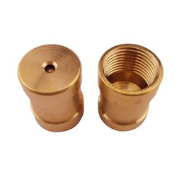 brass water nozzles UK - Brass Flat Spray Nozzles Automatic Misting Sprinklers Head Lawn Watering Tools Irrigation Accessories Gardening Supplies Equipments
