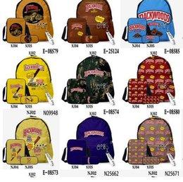 US Stock Backwoods Backpacks 3pcs set For Breakfast Outdoor Bags Sunny Fritz Green Honey Berry Black Mild Natural 5 Cigars