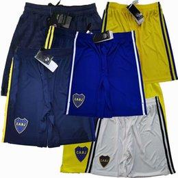 venda por atacado 2019 2020 2021 2022 Boca Juniors Soccer Shorts De Rossi Cardona Tevez 20 21 22 Home Away 3º 4th Futebol Sports Shorts Calças S-2XL
