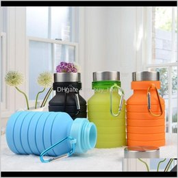 3l bottle water Australia - Hydration Gear And Camping Hiking Sports & Outdoors Drop Delivery 2021 Telescopic Kettle Silica Gel Water Bag Foldable Outdoor Motion Waters