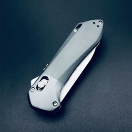 Outdoor folding knife with toothed stone wash sleeveless steel high hardness sharp self-defense camping garden appliances EDC