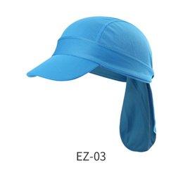 Protection uv Rabat cou capot chapeau de soleil baseball Camping Pêche cap chasse
