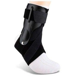 Wholesale Ankle Brace Adjustable Support Strap Foot Sprain Splint Wrap Stabilizer Guard For Men Women Gym Sport Protector
