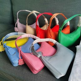 Wholesale High quality Luxurys Designer tote Shoulder bag duffle Nylon leather woemns men famous Handbags Lady wallet Fashion Crossbody Clutch bags Hobo Purses