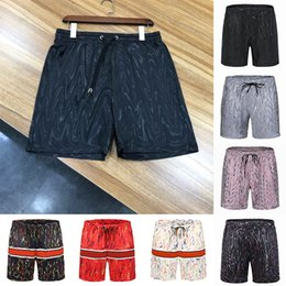 Wholesale boarding shorts resale online - 2021 Mens Summer Fashion Shorts Designers Board Short Gym Mesh Sportswear Quick Drying SwimWear Printing Man S Clothing Swim Beach Pants Asian Size M XL