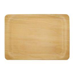 Японский прямоугольный хлеб суши тарелка деревянный хлеб поднос на Распродаже