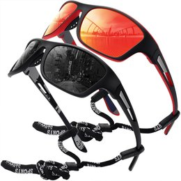 2021 Men's Fashion Sunglasses TAC Material Brand New Polarized Riding Sports Outdoor Glasses