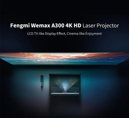 Wholesale Xiaomi WEMAX L1668FCF 4K Laser Projector 9000 ANSI lumens HDR ALPD 3.0 Dolby Voice Control Netflix
