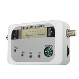 digital satellite finder meter 2021 - DVB-T Digital Sat Dish Portable TV Receiver Searching Tester Electronics Buzzer Meter Sensitive Satellite Signal Finder Radio