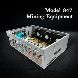 モデル847マイナー鉱山の8カードシャーシ、仮想コイン、エセラー、ビットコインを採掘することができる費用対効果の高い装置