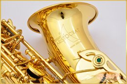High Quality Conn-selmer AS600LDIR Saxophone Gold Alto Full flower Eb Tune Model E Flat Sax with Reeds Case Mouthpiece Professional on Sale