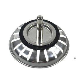 Alta qualità 79.3mm 304 Acciaio inossidabile Cucina in acciaio inox Dreni Lavello Sinvallo Stopper Scarto Plug filtro Bagno Basin Drein DHD7293 in Offerta