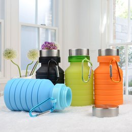 3l bottle water Australia - Telescopic Kettle Silica Gel Water Bag Foldable Outdoor Motion Waters Cup Dexterous Portable Well Sealed Environment Protection 22 8yfC1